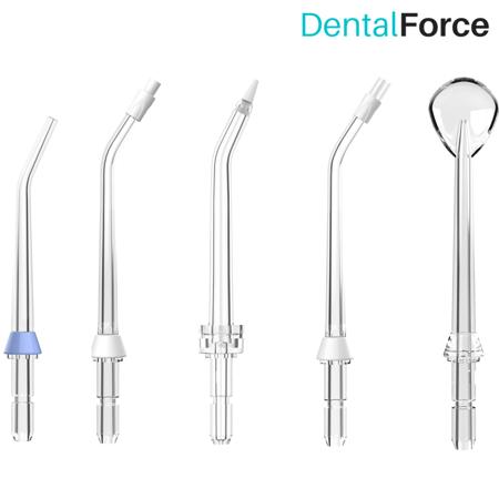 Końcówki do irygatora specjalistyczne DentalForce - 5 sztuk